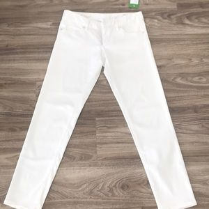 Lily Pulitzer White Skinny Jeans